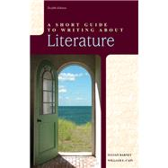 Short Guide to Writing about Literature, A,  Plus MyWritingLab -- Access Card Package