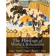 The Heritage of World Civilizations Brief Edition, Volume 2 Plus NEW MyHistoryLab with eText -- Access Card Package