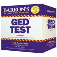 Barrons Ged Test Flash Cards: 450 Flash Cards to Help You Ac