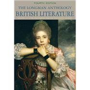 Longman Anthology of British Literature,The,  Volume 1C Restoration and the Eighteenth Century Plus MyLiteratureLab --Access Card Package