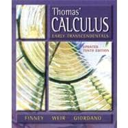 Thomas' Calculus, Early Transcendentals, Updated