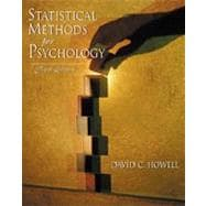 Statistical Methods for Psychology (with CD-ROM and InfoTrac)