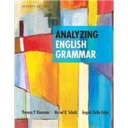 Analyzing English Grammar Plus MyWritingLab -- Access Card Package