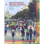 Cengage Advantage Books: American Government and Politics Today The Essentials 2008