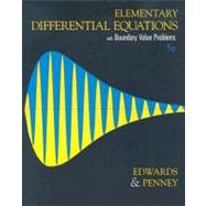 Elementary Differential Equations with Boundary Value Problems