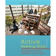 Active Reading Skills Reading and Critical Thinking in College (with MyReadingLab with Pearson eText Student Access Code Card)