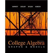Combo: College Algebra: Graphs &amp; Models with ALEKS User Guide &amp; Access Code 1 Semester