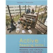 Active Reading Skills Plus MyReadingLab with eText -- Access Card Package