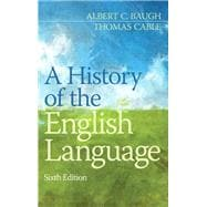 History of the English Language, A,  Plus MyWritingLab -- Access Card Package