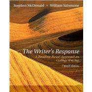 The Writer�s Response A Reading-Based Approach To College Writing