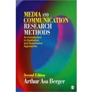Media and Communication Research Methods : An Introduction to Qualitative and Quantitative Approaches