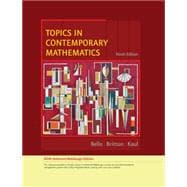 Topics in Contemporary Mathematics, Enhanced Edition