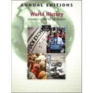Annual Editions: World History, Volume 2: 1500 to the Present, 10/e