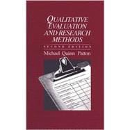 Qualitative Evaluation and Research Methods