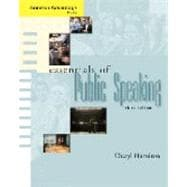 Cengage Advantage Books: Essentials of Public Speaking (with SpeechBuilder Express™ and InfoTrac)