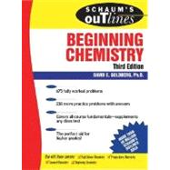 Schaum's Outline of Beginning Chemistry, 3rd ed