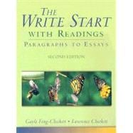 Write Start with Readings, The: Paragraphs to Essays