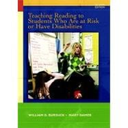 Teaching Reading to Students Who Are at Risk or Have Disabilities : A Multi-Tier Approach