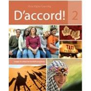 D'Accord Level 2 Student Edition + Supersite Code