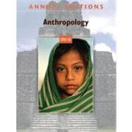 Annual Editions: Anthropology 09/10