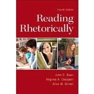Reading Rhetorically Plus NEW MyCompLab  -- Access Card Package