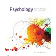 Psychology : Themes and Variations, Briefer Version
