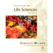 Statistics For The Life Sciences& S/S/M Package