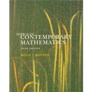 Topics in In Contemporary Mathematics Sixth Edition