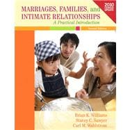 Marriages, Families, and Intimate Relationships Census Update