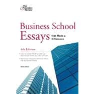 Business School Essays that Made a Difference, 4th Edition
