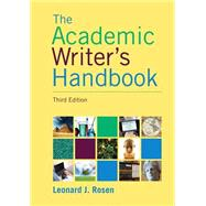 Academic Writer's Handbook, The,  Plus MyWritingLab -- Access Card Package