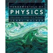 Fundamentals of Physics, 9th Edition, Volume 1, Chapters 1-20, 9th Edition