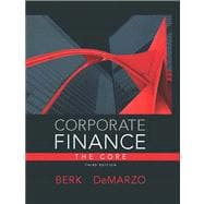 Corporate Finance, The Core