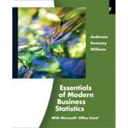 Essentials of Modern Business Statistics , 4th Edition