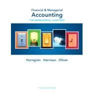 Financial & Managerial Accounting Ch 14-24 (Managerial Chapters)