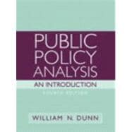 Public Policy Analysis : An Introduction- (Value Pack W/MySearchLab)