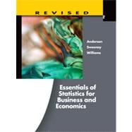 Essentials of Statistics for Business and Economics, Revised, 6th Edition