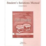 Student Solutions Manual for Basic College Mathematics A Real-World Approach