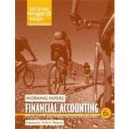 Financial Accounting: Tools for Business Decision Making, Working Papers , 6th Edition