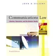 Communications Law With Infotrac: Liberties, Restraints, and the Modern Media