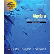 Algebra Beginning and Intermediate, Multimedia Edition
