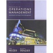 Principles of Operations Management 9/E w/ Student CD