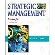 Strategic Management : Concepts