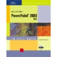 CourseGuide: Microsoft Office PowerPoint 2003-Illustrated BASIC