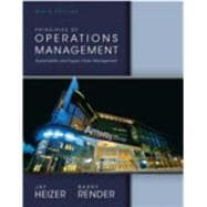 Principles of Operations Management & NEW MyOMLab with Pearson eText -- Access Card & Student CD Package