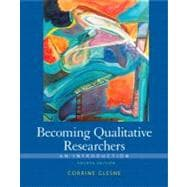 Becoming Qualitative Researchers An Introduction