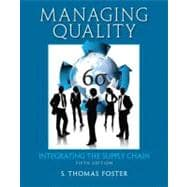 Managing Quality : Integrating the Supply Chain