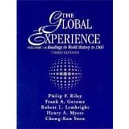 Global Experience : Readings in World History to 1500