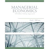 Managerial Economics A Problem-Solving Approach