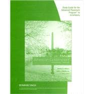 Study Guide, AP* Edition for Wilson/DiIulio/Bose�s American Government, AP* Edition, 12th